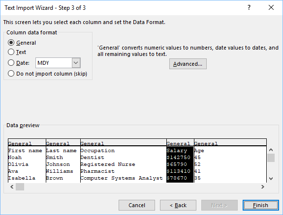 How to import CSV file that uses UTF-8 encoding