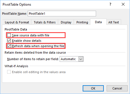 11+ ways to reduce Excel file size